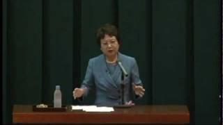 2011年11月18日に行われた、鹿児島市立山下小学校公開研究会での遠山理...