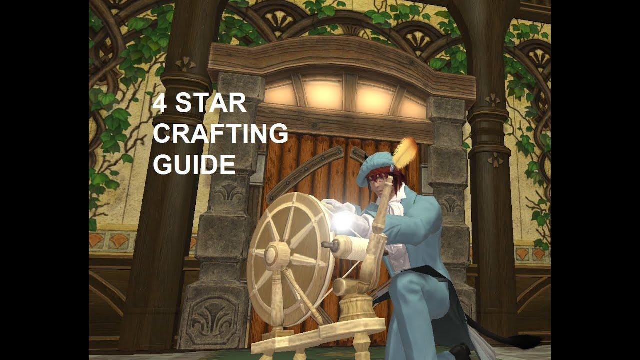 Final fantasy xiv crafting list