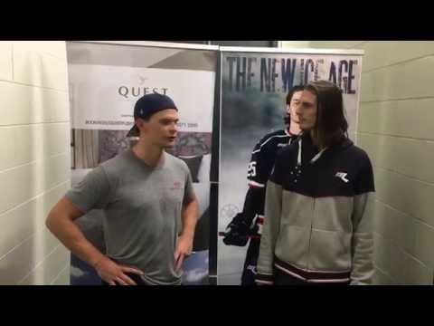Lasse Lassen Post Game Interview - Melbourne Ice vs Sydney Bears 17th July 2016