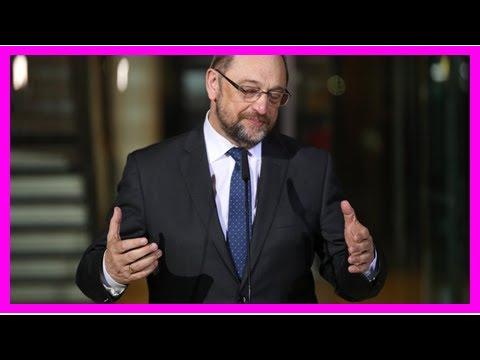 """Ex-SPD-Chef Martin Schulz: """"Ich habe dumme Fehler gemacht"""""""