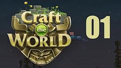 """Let's Play """"Craft The World"""" [German / Deutsch]"""