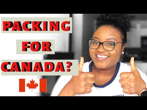 Packing For Canada |Things To Bring To Canada|International Students