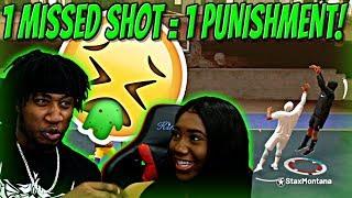 1 Missed Shot = 1 PUNISHMENT!! 100% PURE LEMON JUICE DRINK! - NBA 2K19 MyPARK
