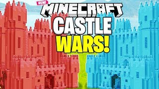 CASTLE WARS THE CRAZIEST BRAND NEW MODDED GAMEMODE EVER - MINECRAFT MODDED MINIGAME