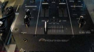 Pioneer DJM-350 Mixer Unboxing & First Impressions