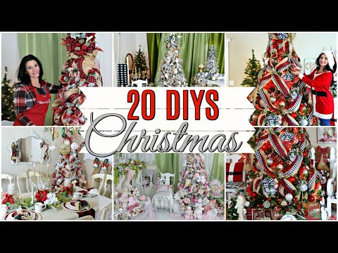 "🎄20 DIY DOLLAR TREE THRIFT STORE CHRISTMAS DECOR CRAFTS & DECORATING 2019🎄 ""I Love Christmas"" ep 29"
