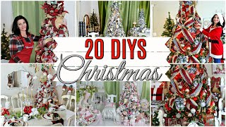 🎄20 DIY DOLLAR TREE THRIFT STORE CHRISTMAS DECOR CRAFTS & DECORATING 2019🎄
