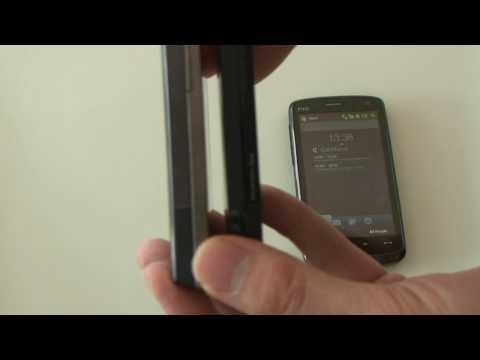 HTC Touch Diamond2 im Videovergleich mit HD und Diamond