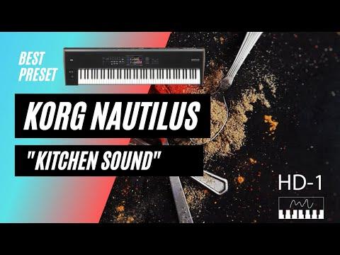 KORG NAUTILUS KITCHEN SOUND :)