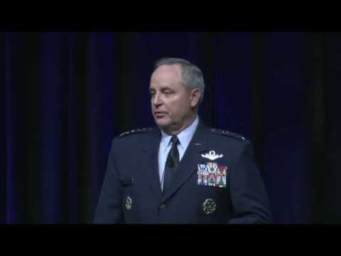 Gen. Mark Welsh III at the 2015 Air Force Association Air Warfare Symposium