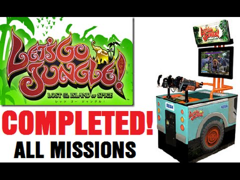LET'S GO JUNGLE Arcade Shooter COMPLETED! ALL MISSIONS!