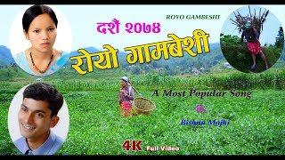 New Dashain Tihar Song 2074 | Royo Gambeshi | Bishnu Majhi | New Nepali Song 2074/2017 | 4k Video