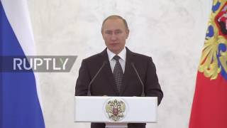 Russia  Putin praises Russian 'heroes of all eras and all generations'