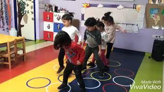 Anasınıfı 6 yaş B/ Oyun Ve Hareket / Bedensel Koordinasyon ve Ritim