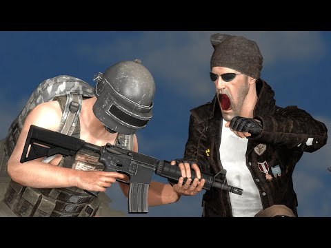 Pubg Animation - Friendly Fire for M416 [Pro vs Noob] [sfm]