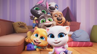 My Talking Tom Friends Game Gameplay