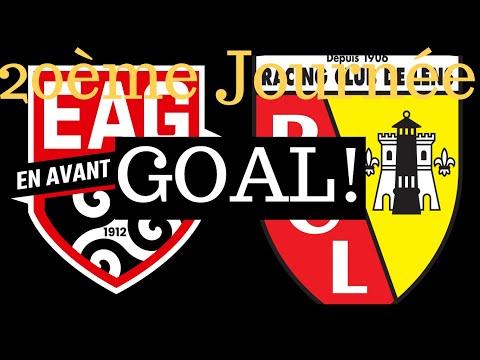 Guingamp Lens Goals And Highlights