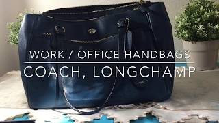 My Work & Commute bags - Coach, Longchamp