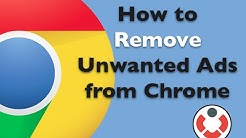 Remove Unwanted Ads on Google Chrome