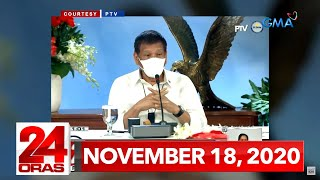 24 Oras Express: November 18, 2020 [HD]