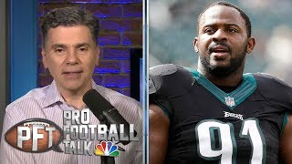 PFT Overtime: Fletcher Cox's health, Bruce Irvin compares Carolina Panthers to Seattle Seahawks