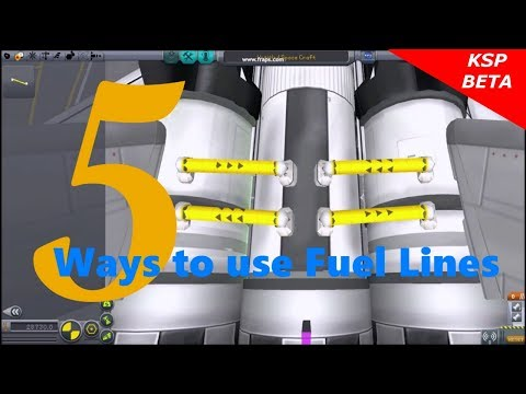 Kerbal Space Program 5 ways to use Fuel Lines