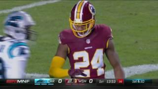 Newton Hits Olsen & Ginn for Big Gains to Set Up FG | Panthers vs. Redskins | NFL Week 15 Highlights