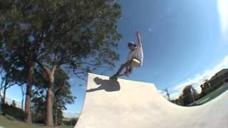 Irrom at Forrest Hill Skatepark.