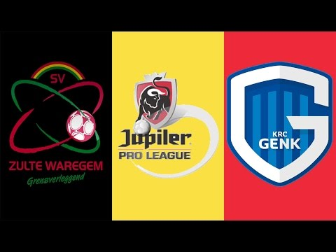 FIFA 17 - ZULTE WAREGEM VS KRC GENK GAMEPLAY - BELGIUM PRO LEAGUE