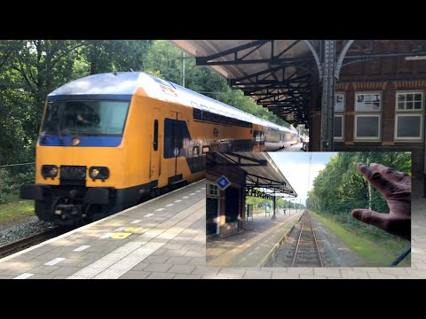 Do Ns Trains Ride To The Second Hilversum Utrecht Cabview Holland 15aug 2020 Youtube