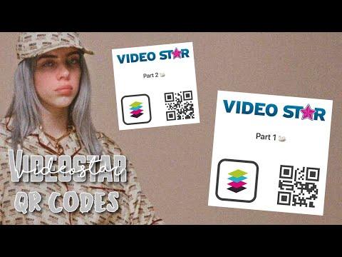 Video Star Transition QR Codes! #3