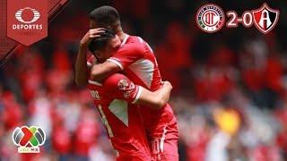 Los Diablos se niegan a morir |  Toluca 2 - 0 Atlas | Clausura 2019 - J 11 | Televisa Deportes