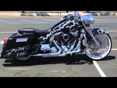 custom road king bagger for sale youtube. Black Bedroom Furniture Sets. Home Design Ideas