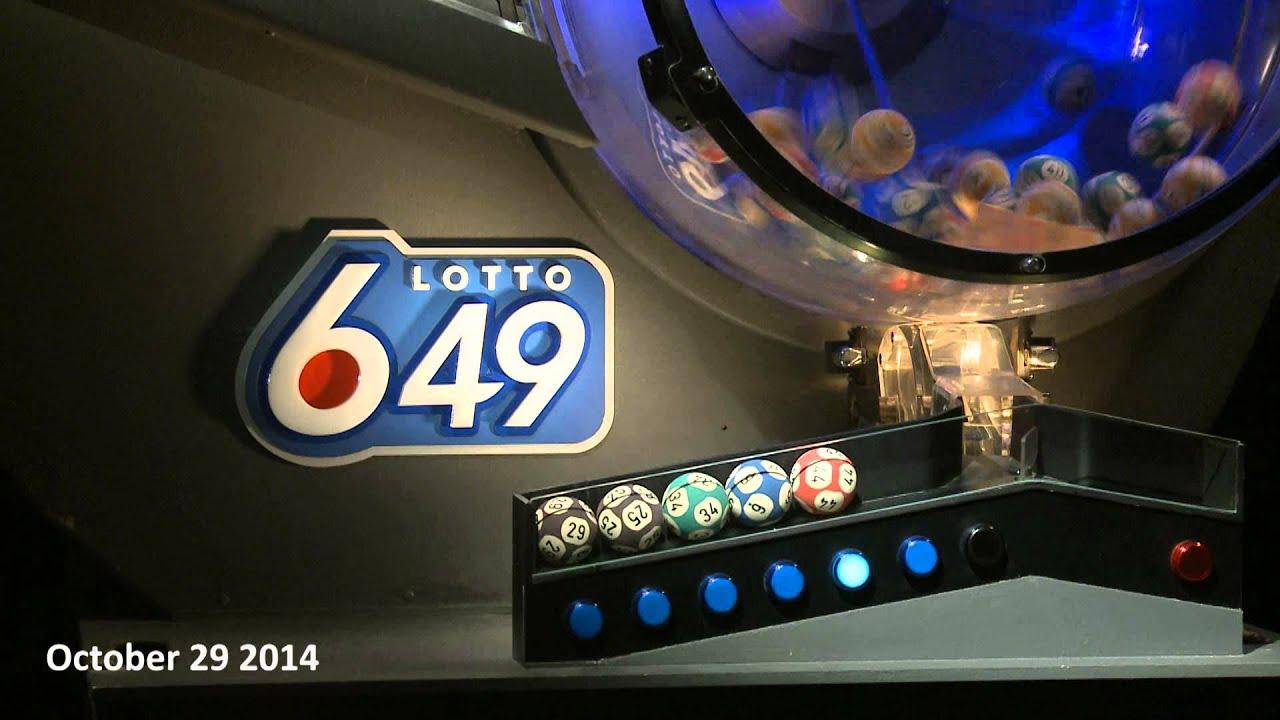 Lotto 6 49 Draw October 29