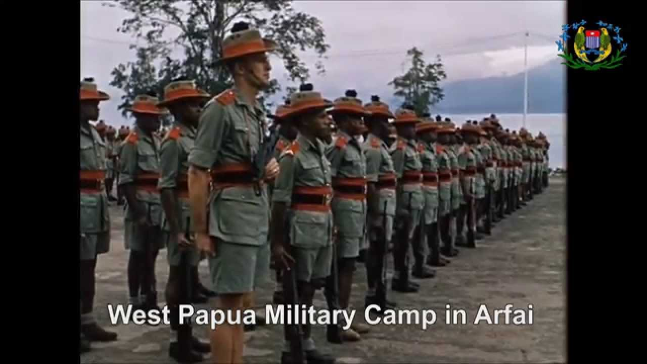 National Army  of West  Papua  since 1960s YouTube