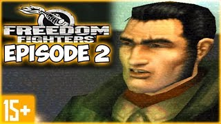 Freedom Fighters Let's Play Episode/Part 2 Gameplay Walkthrough Commentary [PC 4K 60FPS] Playthrough