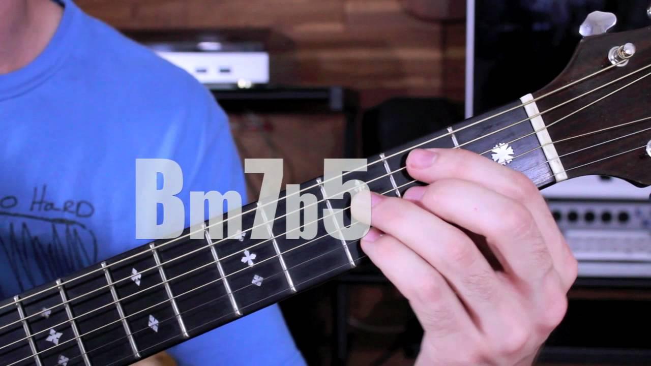 Advanced Guitar Chords- Brazilian, Bossa, Flamenco Lesson! - YouTube