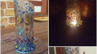 Gorgeous and easy Resin Sculpture Sensory lamp for a childs room/ Demo