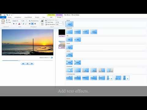 How To Add Text To Video In Windows Movie Maker (Step-by-step Guide)