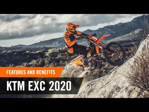 The full line-up of the new ENDURO range – Features & Benefits | KTM EXC 2020