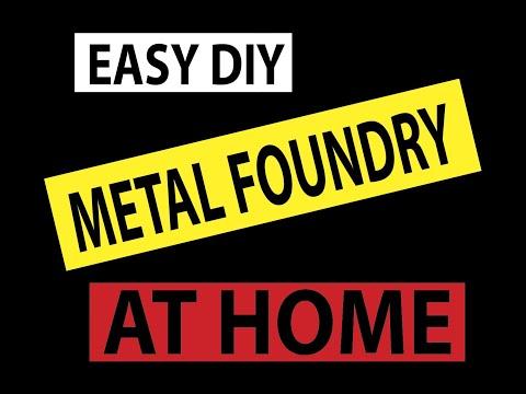 DIY METAL CASTING AT HOME part 1