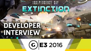 Independence Day: Extinction E3 2016 Interview