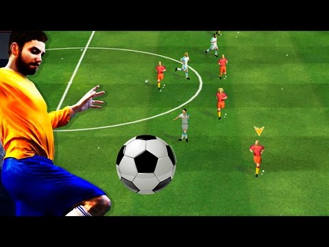 Real Football (by Gameloft) Android HD Gameplay