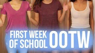 First Week of School OOTW