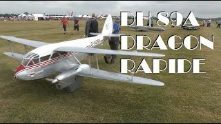 GIANT SCALE RC DH 89A DRAGON RAPIDE: COSFORD LMA MODEL SHOW 2014