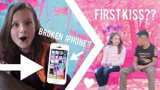 My First Kiss? Hayley LeBlanc breaks her iPhone? Behind the scenes of Mani | Piper Rockelle