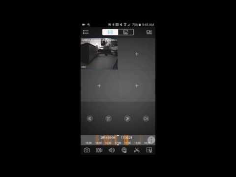 CAMX CCTV: Saving Video Clips On A Smartphone