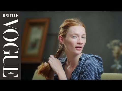 How to do a French Braid (2/4) | Vogue Beauty School | British Vogue