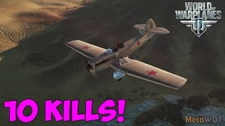 World of Warplanes | Kochyerigin TSH-3 | 10 KILLS - Replay Gameplay 1080p 60 fps