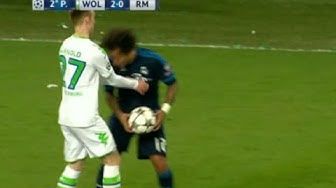 Marcelo Acting vs Wolfsburg 6/4/2016